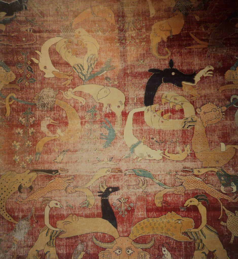 grotesque rug design