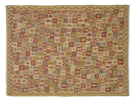 Antique and Contemporary Kilim Rugs, Handwoven Wool Rug