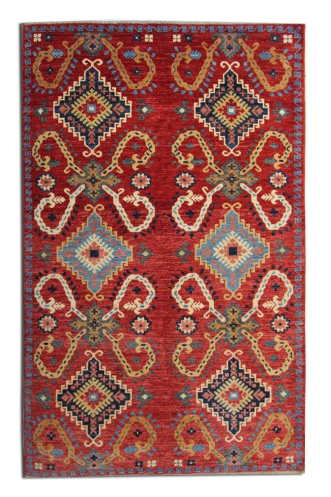 Modern woven rug
